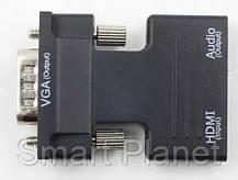 Конвертер Преобразователь с HDMI в VGA, фото 2