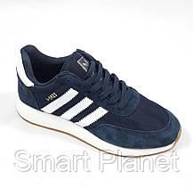 Кроссовки Мужские Adidas Iniki Runner Boost Синие Адидас (размеры: 43) Видео Обзор, фото 2