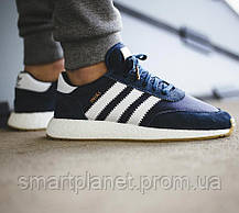Кроссовки Мужские Adidas Iniki Runner Boost Синие Адидас (размеры: 43) Видео Обзор, фото 3