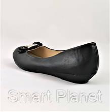 Женские Балетки Чёрные Мокасины Туфли (большие размеры: 41), фото 3