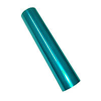 Фольга для ламинирования Бирюза глянець, Шир. 210мм, намотка 30м. Crown Roll Leaf Цвет №09, фото 1