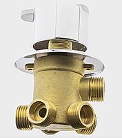 Кран перемикання режимів для душової кабіни на п'ять положень під гайку, вбудований. (Г5)