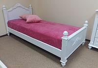 Детская подростковая кровать Валери из массива дерева