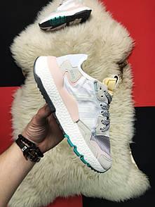 Adidas Nite Jogger Grey White Turquoise