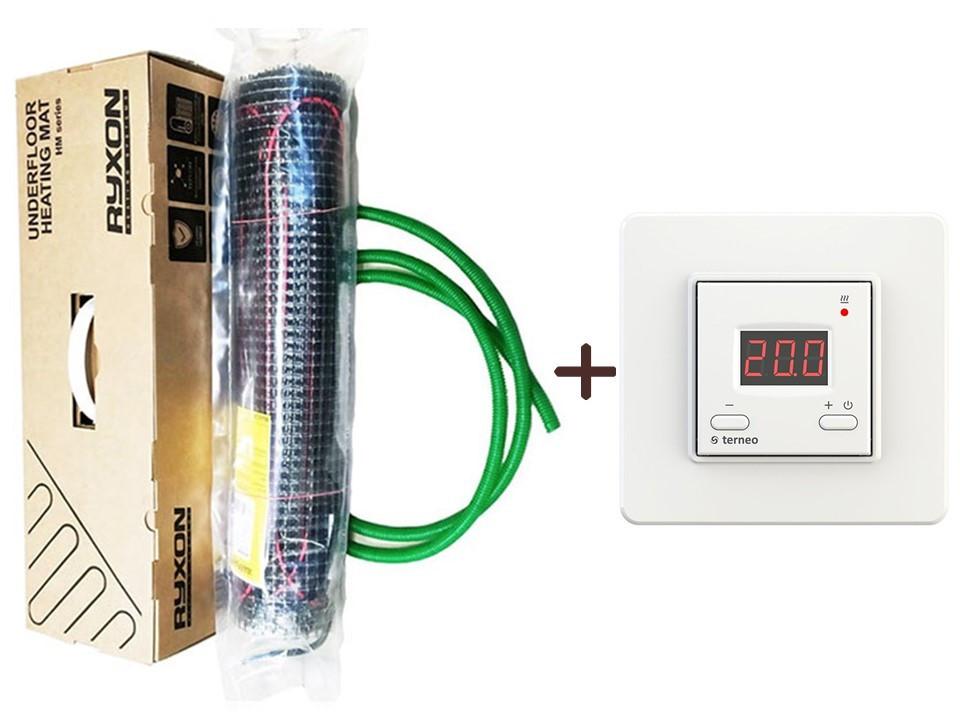 Тонкий електромат Ryxon HM-200 (3.5м2) з цифровим Terneo ST (KIT 3407)