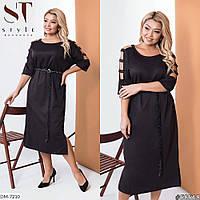 Нарядное женское платье большие размеры Г05155