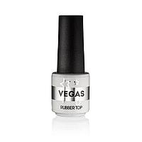 Каучуковое верхнее покрытие для гель-лака Vegas, 6 мл
