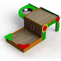 Песочница для детей двухуровневая, фото 1