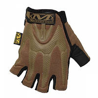 Перчатки Mechanix Wear MPACT беспалые Coyote brown, фото 1
