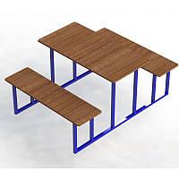 Столик со скамейками Отдых