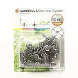 """Крестовина для микрокапельного полива Gardena 3/16"""" (10шт) Micro-Drip-System, фото 2"""