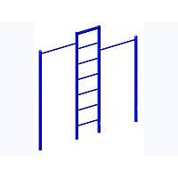 Турник двойной с лестницей