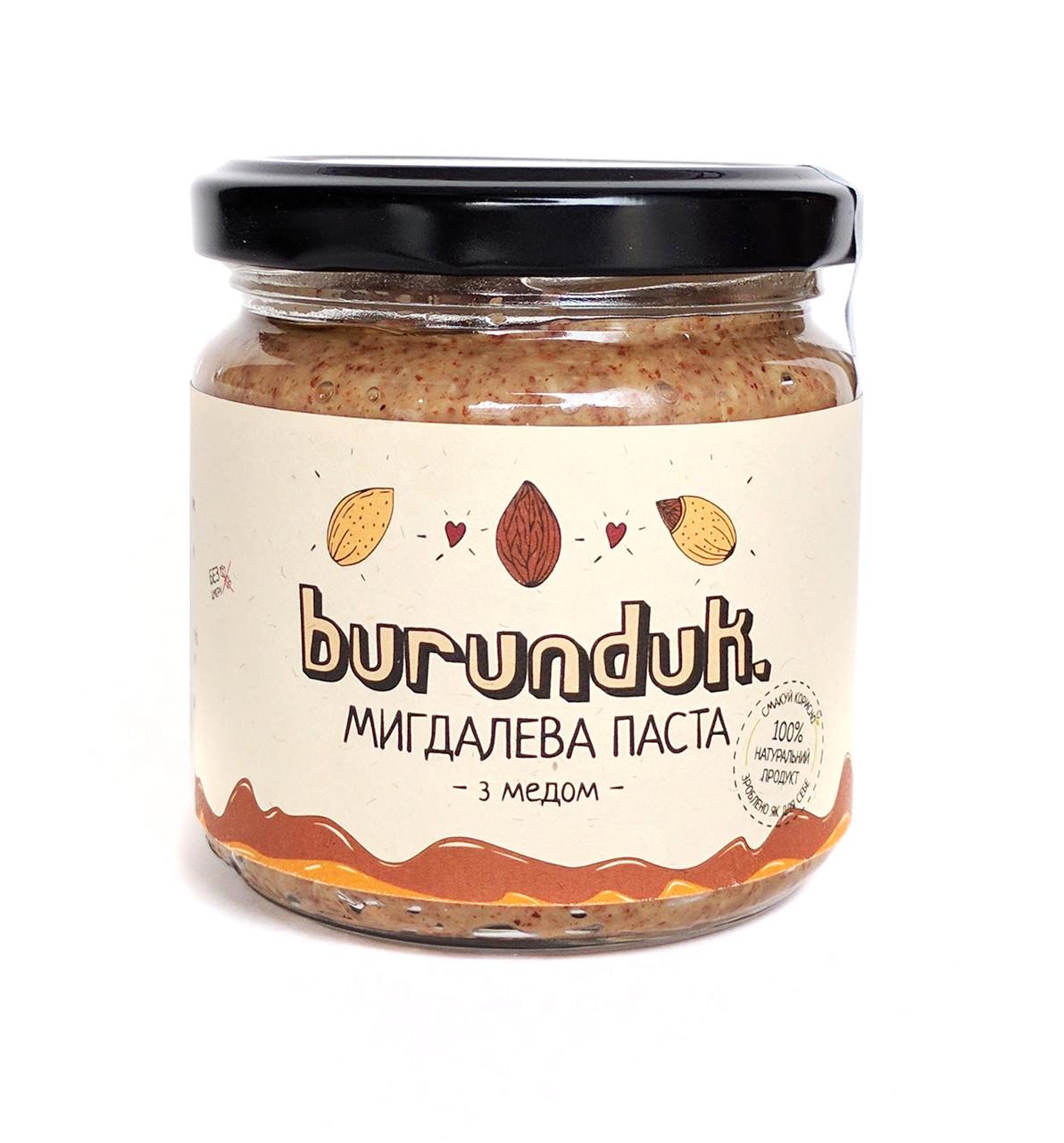 Мигдальний паста Burunduk, 180 г