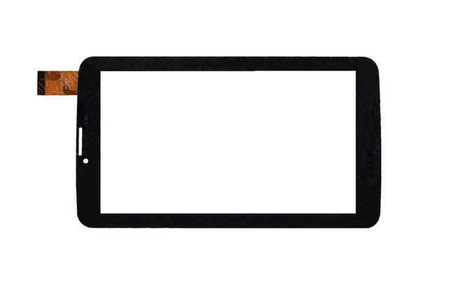 "Тачскрин, сенсор для планшета №442 7"" Elenberg TAB738 (p/n: MGLCTP-701033-70732 ) black, фото 2"