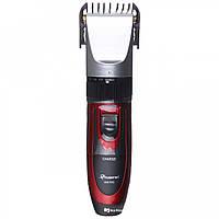 Беспроводная машинка для стрижки волос с двумя аккумуляторами Gemei GM 550 #S/O, фото 1
