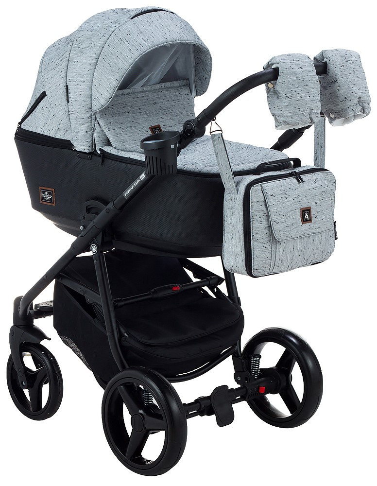 Детская универсальная коляска 2 в 1 Adamex Barcelona BR-205