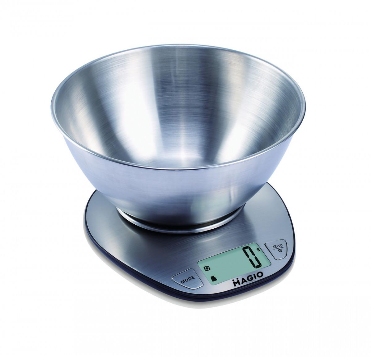 Весы кухонные MAGIO MG-691 5 кг/электр./нерж/ж/к дисп
