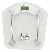 Весы напольные стеклянные (квадратнные) Domotec MS-2003B 180 кг #S/O, фото 1