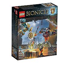 Конструктор LEGO Bionicle 70795 Mask Maker vs. Skull Grinder Building Kit, Маска против Черепа Дробильщика