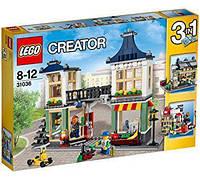 Конструктор 31036 LEGO Creator Магазин игрушек и продуктов