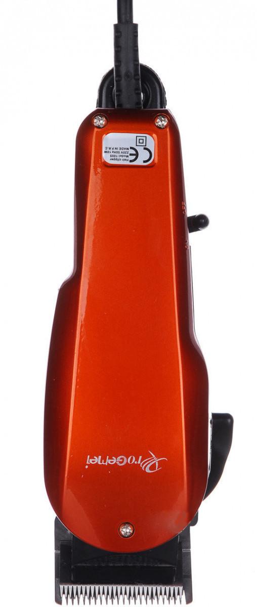 Машинка для стрижки Gemei GM-1005, красная #S/O