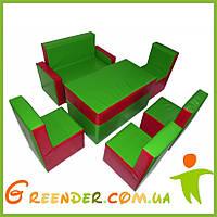 Мягкие игровые комнаты Комплект детской мебели KIDIGO Гостинка Люкс