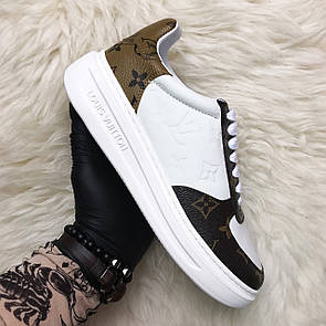 Louis Vuitton Sneakers Brown White