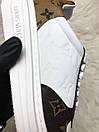 Louis Vuitton Sneakers Brown White, фото 6