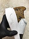 Louis Vuitton Sneakers Brown White, фото 7