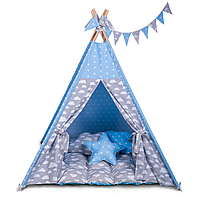 Вигвам облака, детский домик-палатка