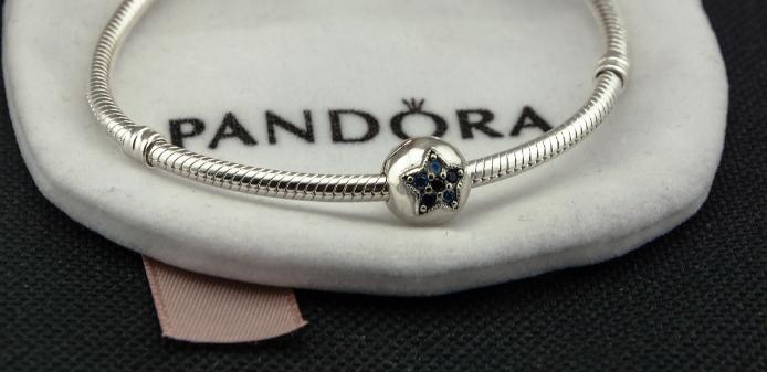 Подвеска шарм серебряная бусина для браслета Pandora Пандора серебро