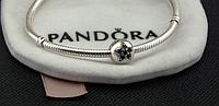 Подвеска шарм серебряная бусина для браслета Pandora Пандора серебро, фото 1
