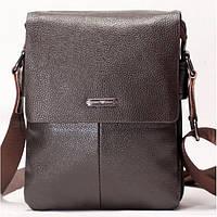 Мужская сумка на плече Armani коричневого цвета