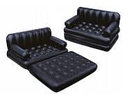 Надувний диван • Матрац • Двоспальне ліжко • Ліжко • Електронасос • Насос, фото 1