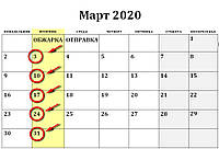 ОБЖАРКА МАРТ 2020