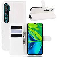 Чохол-книжка Litchie Wallet для Xiaomi Mi Note 10 / Mi Note 10 Pro / CC9 Pro White