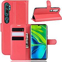 Чохол-книжка Litchie Wallet для Xiaomi Mi Note 10 / Mi Note 10 Pro / CC9 Pro Red