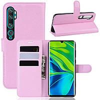 Чехол-книжка Litchie Wallet для Xiaomi Mi Note 10 / Mi Note 10 Pro / CC9 Pro Pink