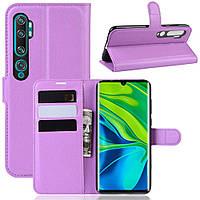 Чехол-книжка Litchie Wallet для Xiaomi Mi Note 10 / Mi Note 10 Pro / CC9 Pro Violet