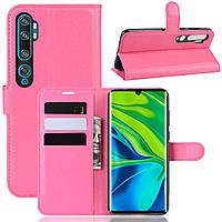 Чехол-книжка Litchie Wallet для Xiaomi Mi Note 10 / Mi Note 10 Pro / CC9 Pro Rose