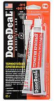 Термостойкий красный силиконовый формирователь прокладок Done Deal ОЕМ (упаковка 85г) DD6726
