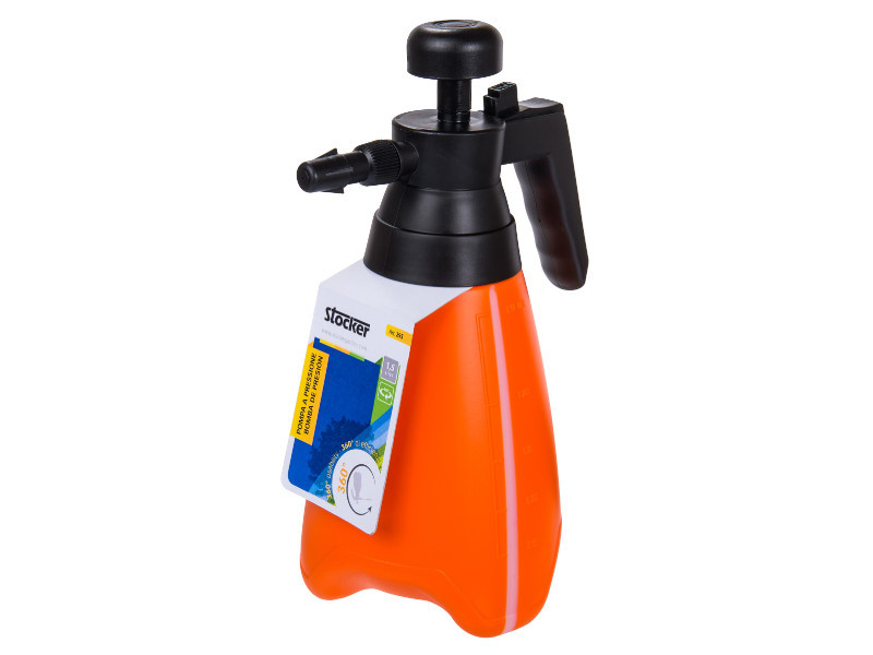 Ручний тисковий обприскувач Stocker 295 1,5 л поворотний - Штокер