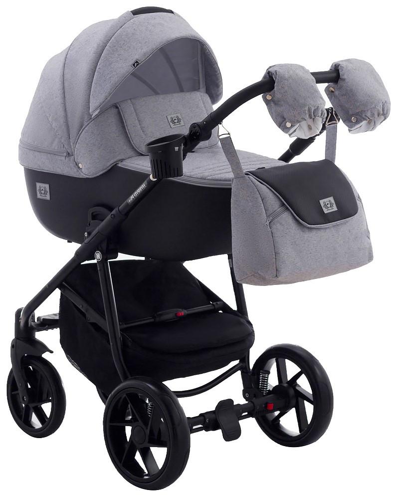 Детская универсальная коляска 2 в 1 Adamex Hybryd Plus BR205