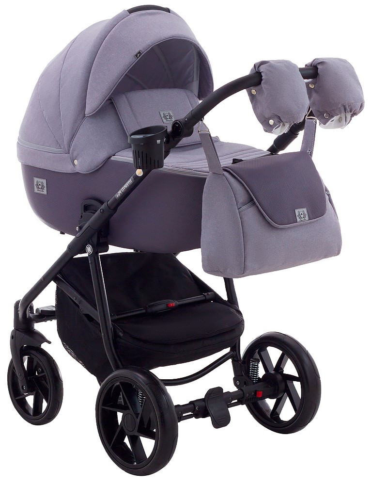 Детская универсальная коляска 2 в 1 Adamex Hybryd Plus BR206