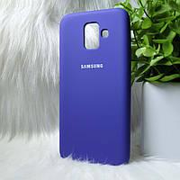 Чехол Samsung A600 A6 2018 синий