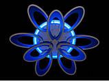 Люстра светодиодная 1673/6+3 white/black 145w диммируемая c led подсветкой, фото 7