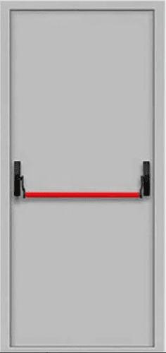 """Противопожарные одностворчатые двери EI 30 2050х860/960 + замок антипаника серии """"Щит 2"""""""