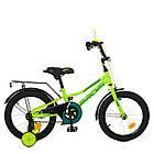 Велосипед детский двухколесный PROFI Y16225 Prime 16 дюймов салатовый **, фото 4