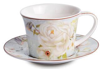 Набор чайный подарочный (чашка + блюдце) LEFARD Райский Сад