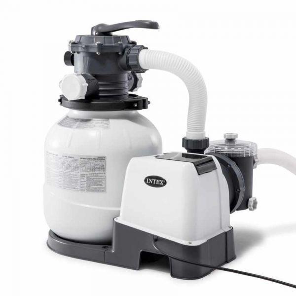Фильтр-насос песочный Intex 26648 KRYSTAL CLEAR, 10000 л/ч
